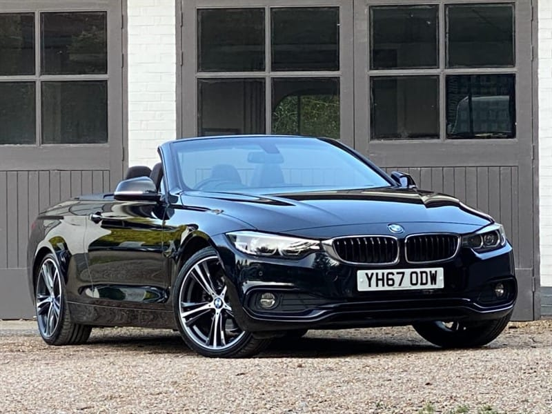 used BMW 420d SPORT in west-sussex