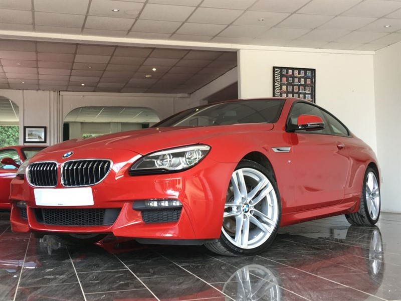 used BMW 640d M SPORT in west-sussex
