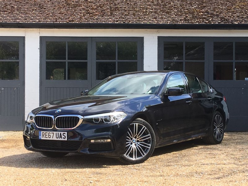 used BMW  5 SERIES 530E M SPORT in west-sussex