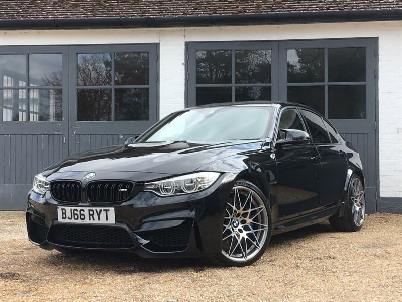used BMW M3 COMPETITION PACKAGE in west-sussex