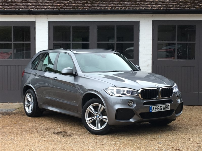 used BMW X5 XDRIVE30D M SPORT in west-sussex