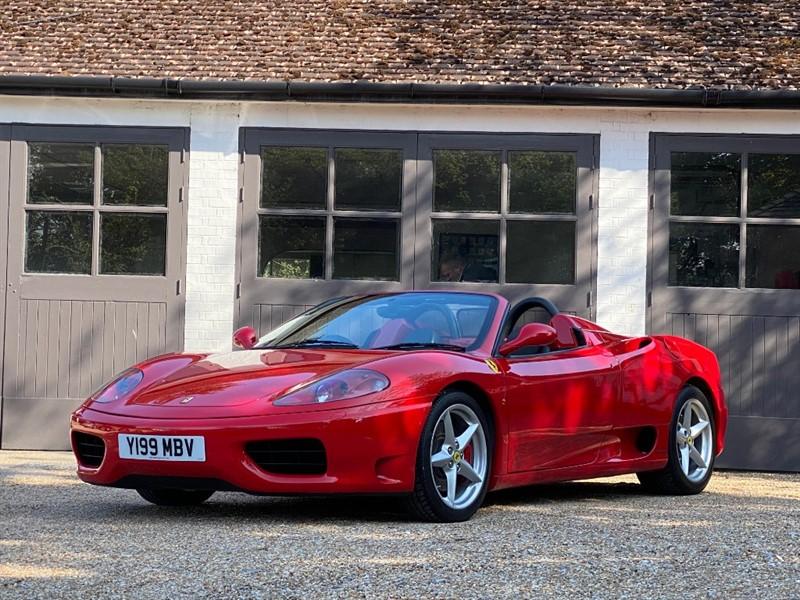 used Ferrari 360 F360 Spider in west-sussex