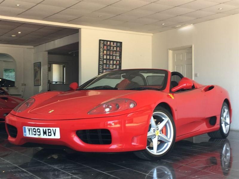 used Ferrari 360 SPIDER in west-sussex