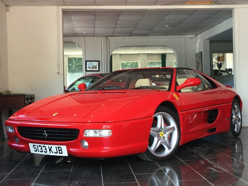 used Ferrari F355 F1 GTS Fiorano in west-sussex