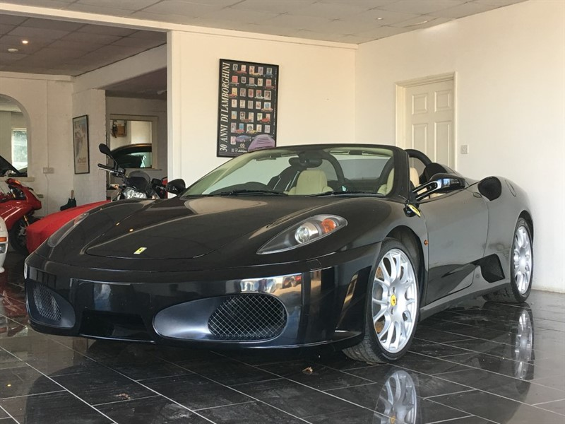 used Ferrari F430 Spider F1 in west-sussex