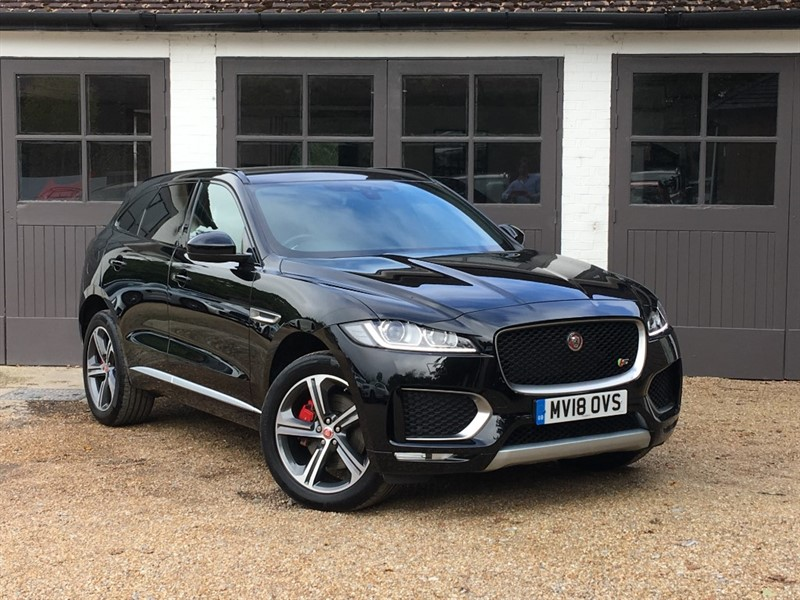 used Jaguar F-Pace I V6 S AWD in west-sussex