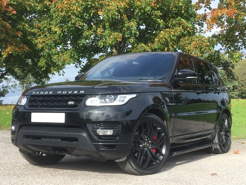 used Land Rover Range Rover Sport SDV6 AUTOBIOGRAPHY DYNAMIC in west-sussex