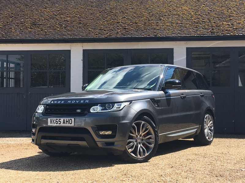 used Land Rover Range Rover Sport SDV8 AUTOBIOGRAPHY DYNAMIC in west-sussex