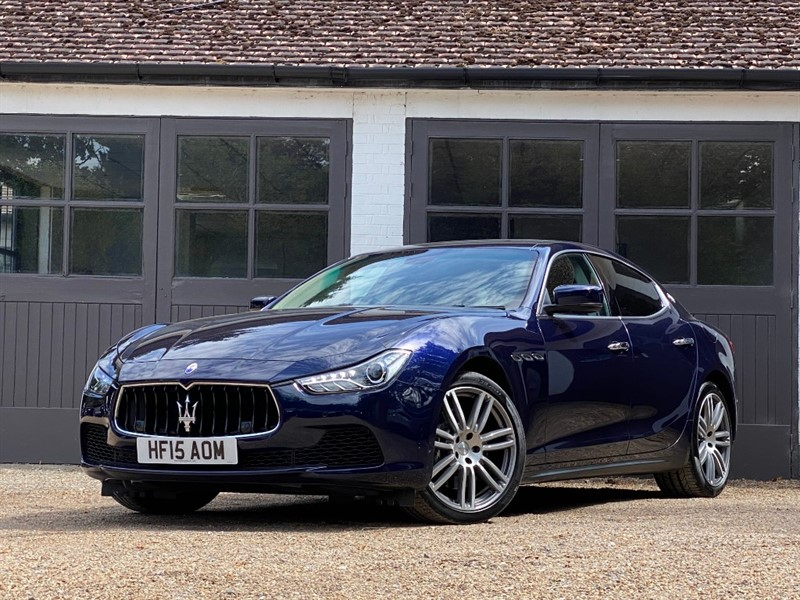 used Maserati Ghibli V6 in west-sussex