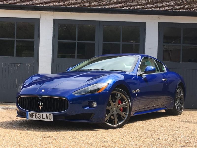 used Maserati Granturismo S in west-sussex