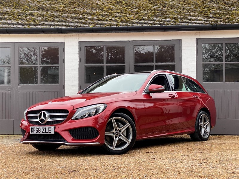 used Mercedes 200 C  4MATIC AMG LINE PREMIUM in west-sussex