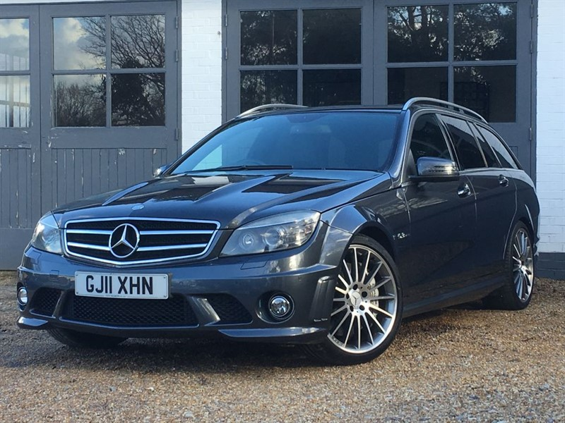 used tenorite grey mercedes c63 amg for sale west sussex. Black Bedroom Furniture Sets. Home Design Ideas