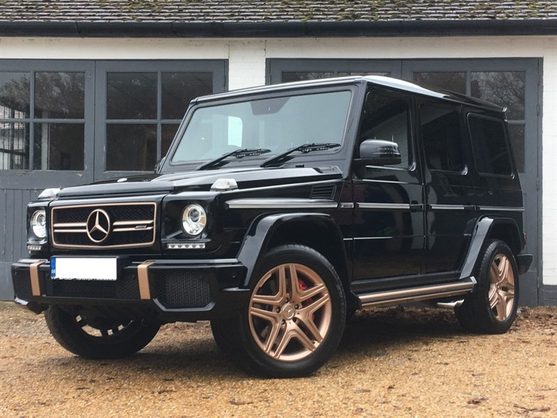 used Mercedes G63 AMG AMG G 63 4MATIC in west-sussex