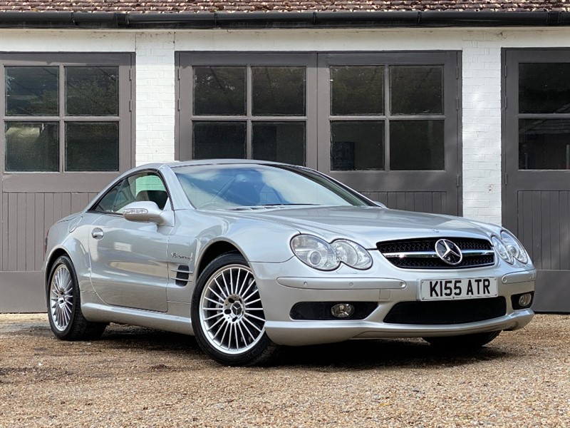 used Mercedes SL55 AMG SL 55 AMG KOMPRESSOR in west-sussex