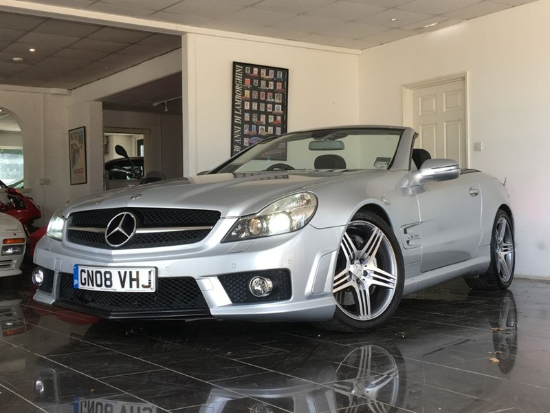used Mercedes SL SL63 AMG in west-sussex