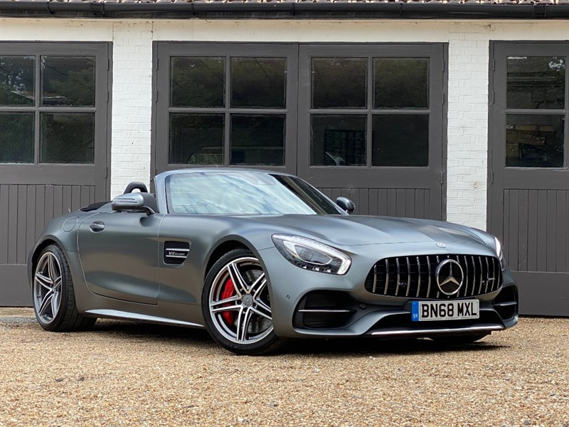 used Mercedes  AMG GT C in west-sussex