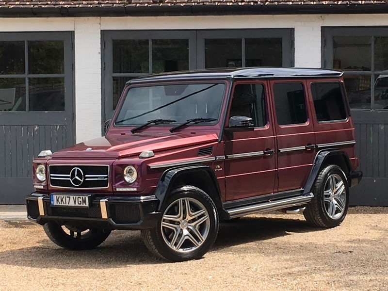 used Mercedes G63 AMG AMG G 63 4MATIC COLOUR EDITION in west-sussex