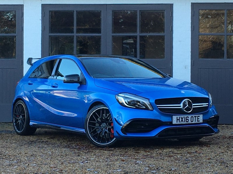 used Mercedes  AMG A 45 4MATIC PREMIUM in west-sussex