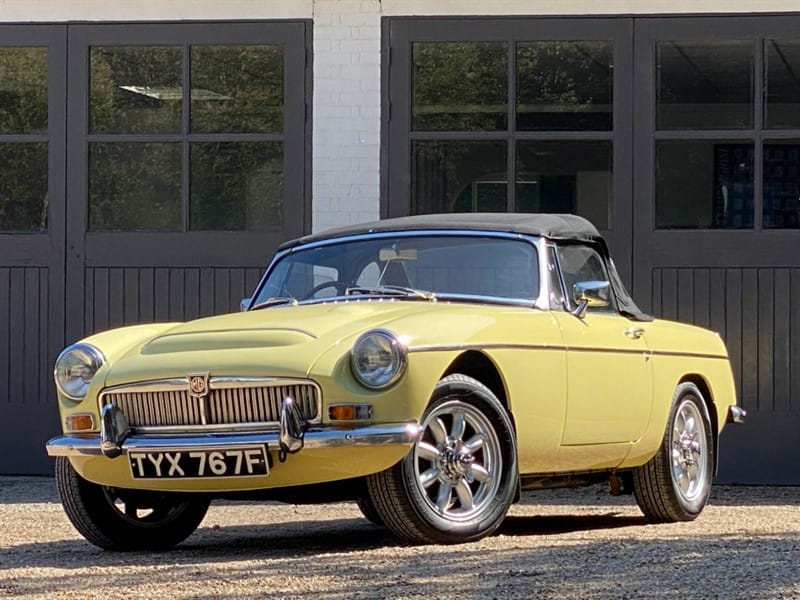 used MG Roadster MGC in west-sussex