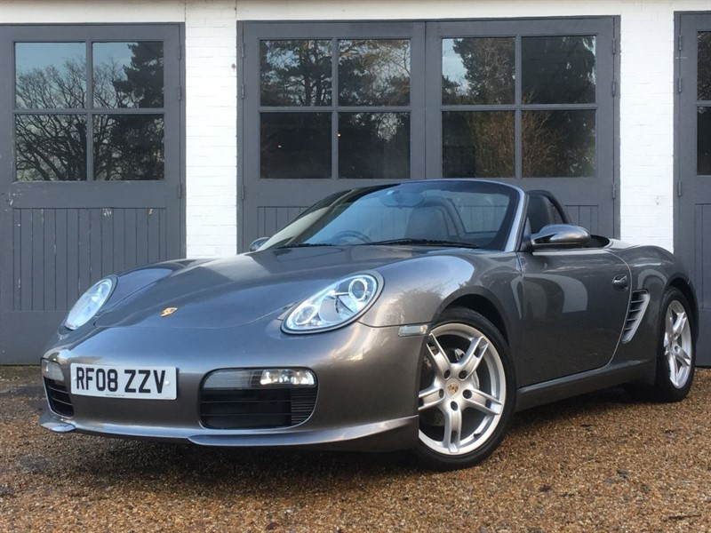 used Porsche Boxster 24V SPORT EDITION in west-sussex