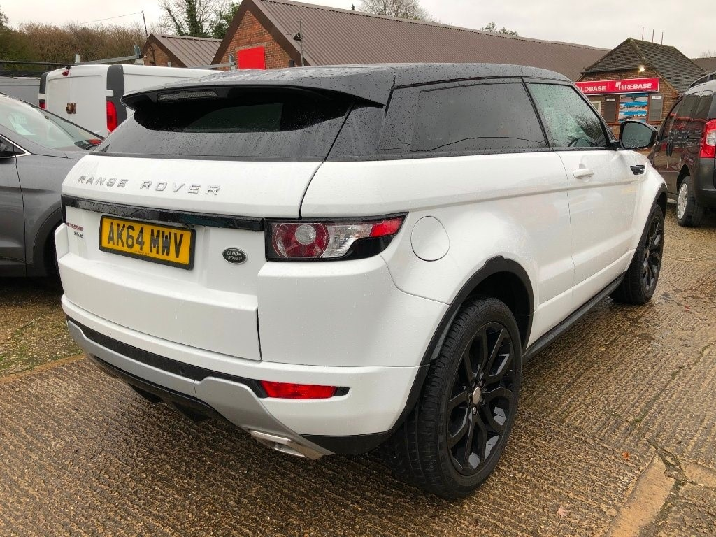Used White Land Rover Range Evoque For Sale Buckinghamshire Vehicle Details