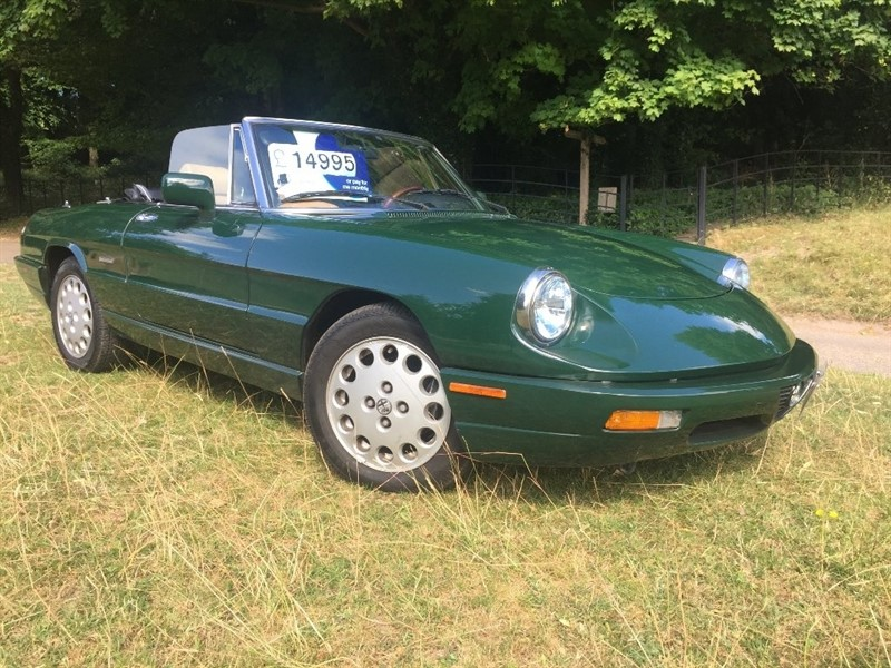 used Alfa Romeo Spider 2dr in high-wycombe-buckinghamshire