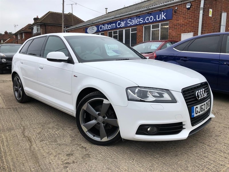 used Audi A3 TDI Black Edition Sportback S Tronic 5dr in high-wycombe-buckinghamshire