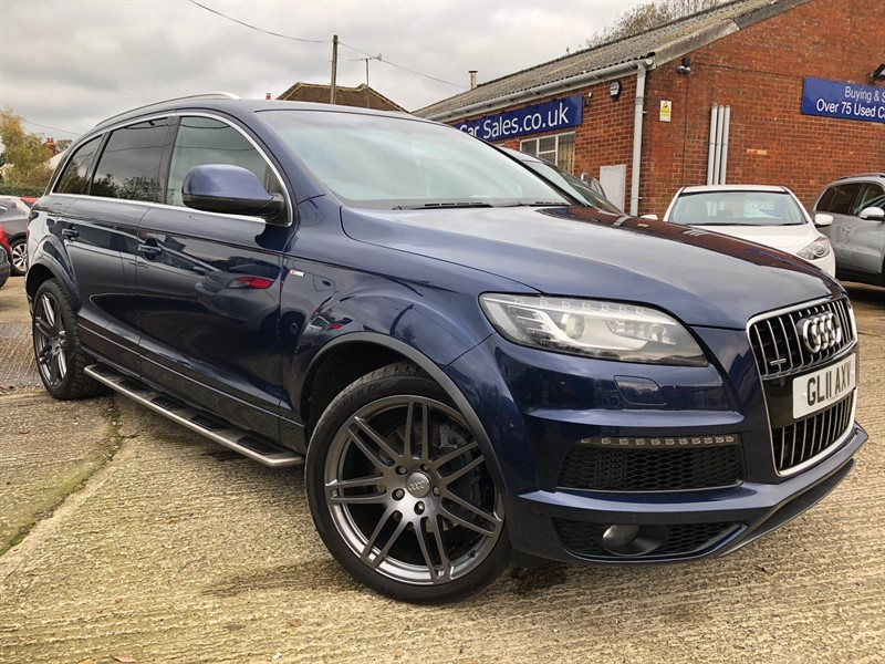 used Audi Q7 TD S line Tiptronic quattro 5dr in high-wycombe-buckinghamshire