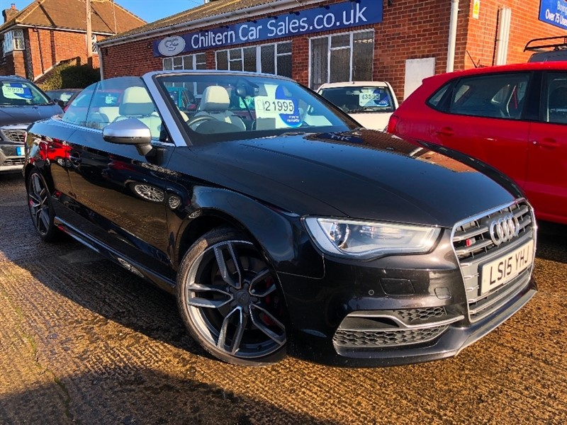 used Audi S3 TFSI Cabriolet S Tronic quattro 2dr in high-wycombe-buckinghamshire