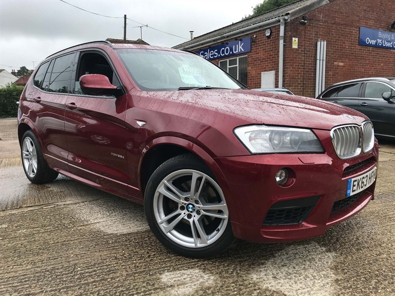 used BMW X3 35d M Sport xDrive in high-wycombe-buckinghamshire