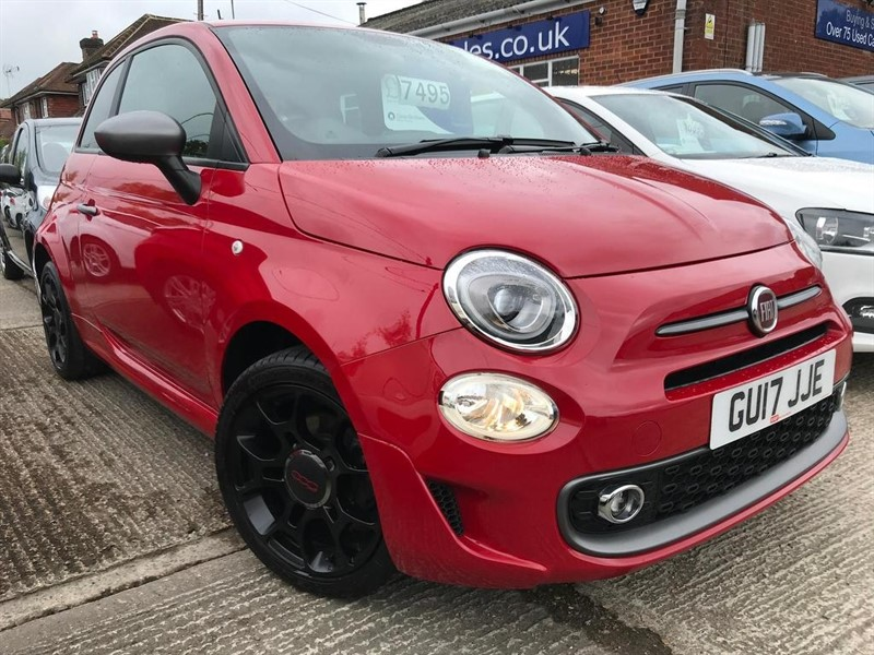 used Fiat 500 1.2 S (s/s) 3dr in high-wycombe-buckinghamshire