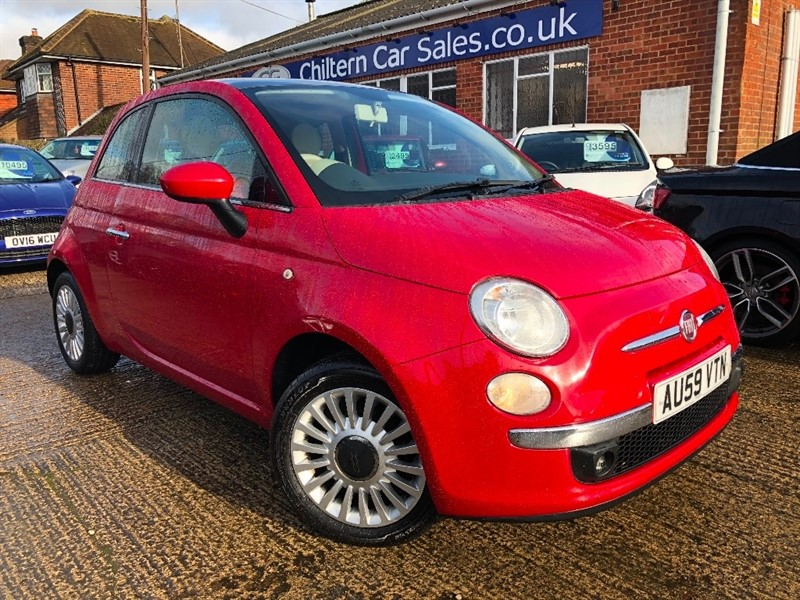 used Fiat 500 1.2 Lounge 3dr in high-wycombe-buckinghamshire