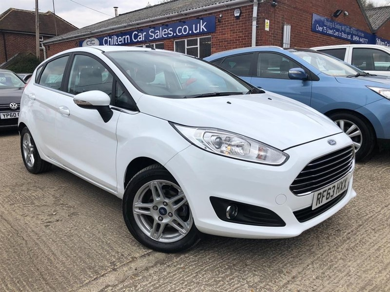 used Ford Fiesta EcoBoost Zetec (s/s) 5dr in high-wycombe-buckinghamshire