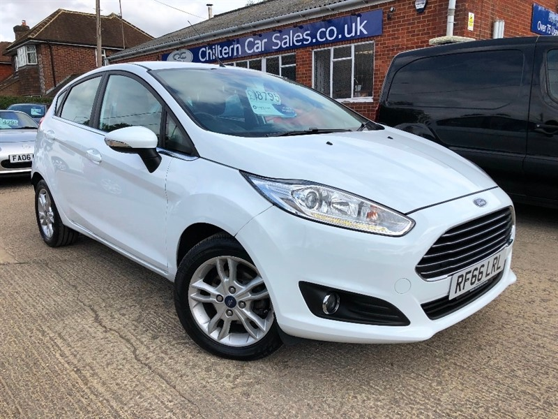 used Ford Fiesta T EcoBoost Zetec (s/s) 5dr in high-wycombe-buckinghamshire