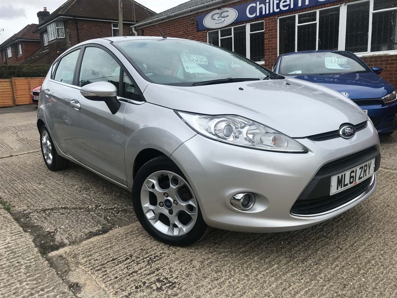 used Ford Fiesta 1.25 Zetec in high-wycombe-buckinghamshire
