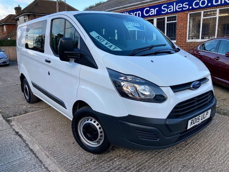 used Ford Transit Custom 290 Double Cab-in-Van L2 H1 in high-wycombe-buckinghamshire