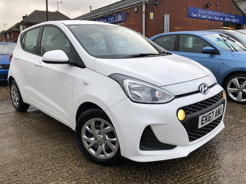 used Hyundai i10 SE 5dr in high-wycombe-buckinghamshire