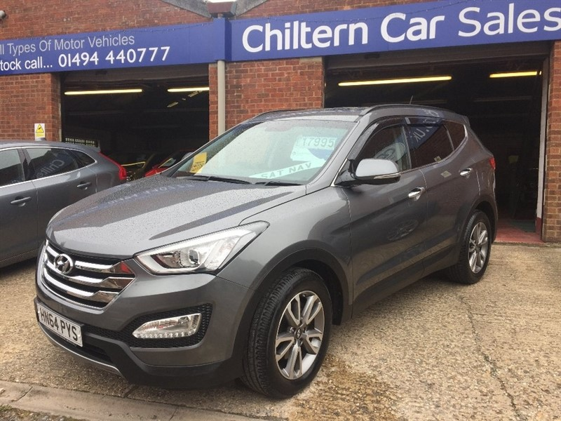 used Hyundai Santa Fe CRDi Premium 4WD 5dr (5 seats) in high-wycombe-buckinghamshire