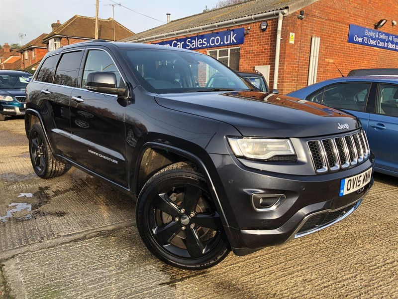 used Jeep Grand Cherokee V6 CRD Overland Auto 4WD 5dr in high-wycombe-buckinghamshire