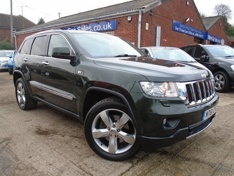 used Jeep Grand Cherokee CRD V6 Limited 4x4 5dr in high-wycombe-buckinghamshire