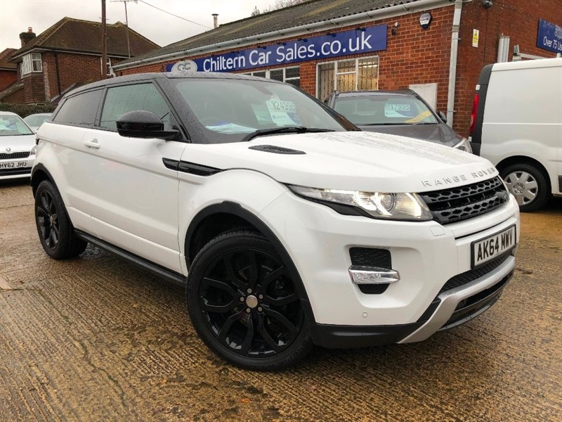 used Land Rover Range Rover Evoque SD4 Dynamic 4X4 3dr in high-wycombe-buckinghamshire
