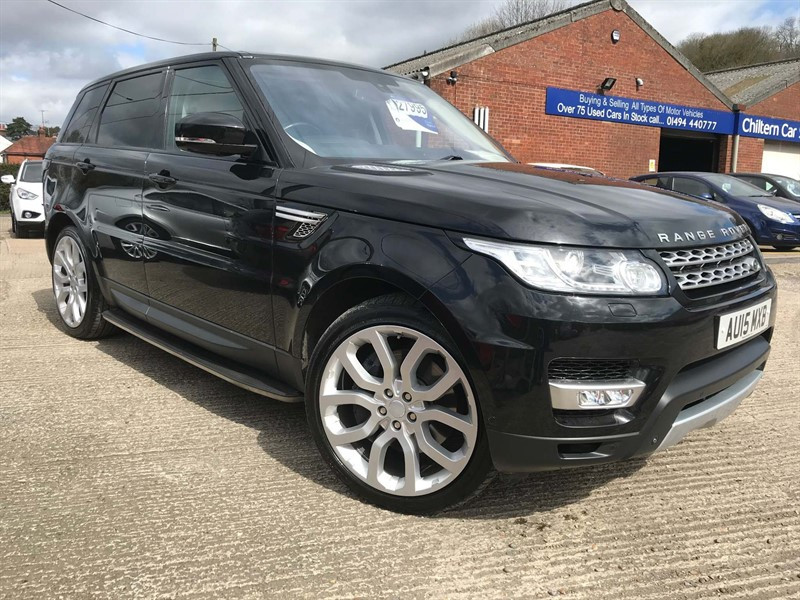 used Land Rover Range Rover Sport SD V6 HSE 4X4 (s/s) in high-wycombe-buckinghamshire
