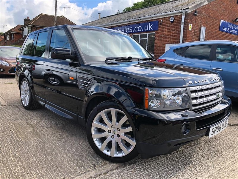 used Land Rover Range Rover Sport TD V8 HSE 5dr in high-wycombe-buckinghamshire