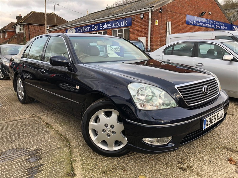used Lexus LS 430 4dr in high-wycombe-buckinghamshire