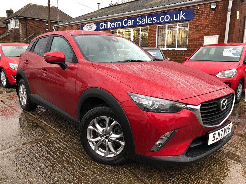 used Mazda CX-3 SKYACTIV-G SE-L Nav (s/s) in high-wycombe-buckinghamshire