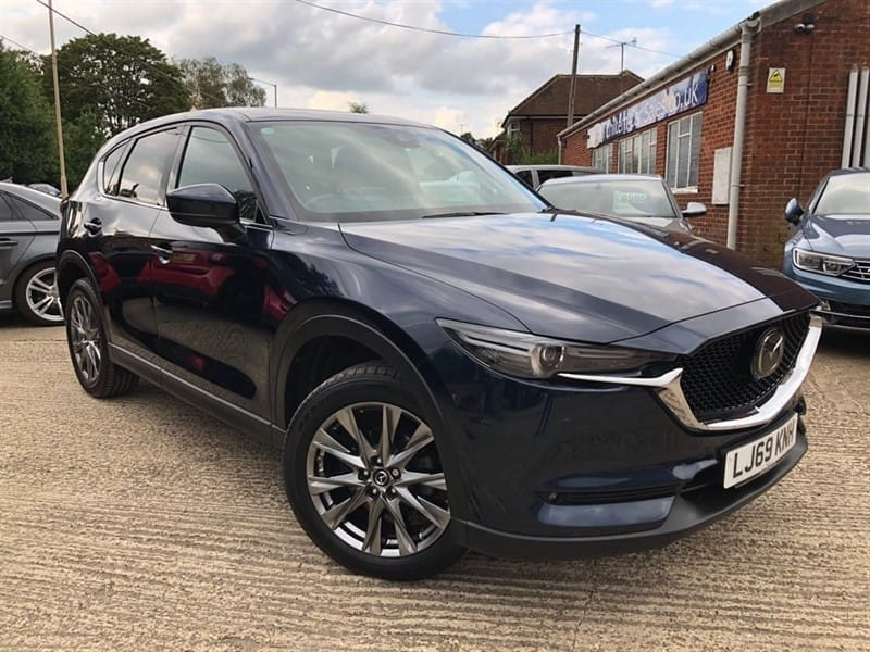 used Mazda CX-5 SKYACTIV-G GT Sport Nav+ Auto (s/s) in high-wycombe-buckinghamshire