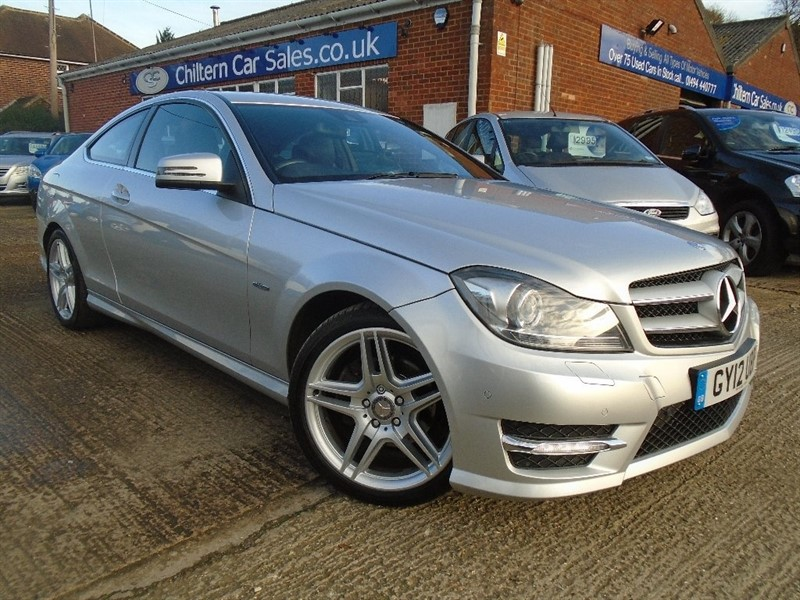 used Mercedes C220 C Class CDI BlueEFFICIENCY AMG Sport Coupe 7G-Tronic Plus 2dr in high-wycombe-buckinghamshire