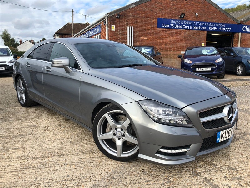 used Mercedes CLS350 CDI BlueEFFICIENCY AMG Sport 7G-Tronic Plus in high-wycombe-buckinghamshire