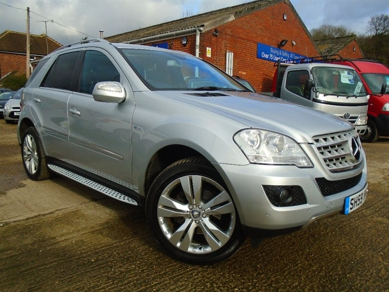 used Mercedes ML300 M Class CDI BlueEFFICIENCY Sport 7G-Tronic 5dr in high-wycombe-buckinghamshire