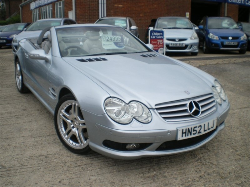 used Mercedes SL Class 5.4 SL55 AMG 2dr in high-wycombe-buckinghamshire